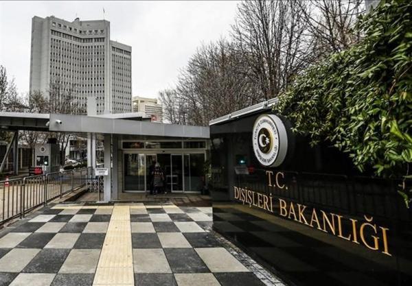 آنکارا: گزارش وزارت خارجه آمریکا علیه ترکیه، نمونه استاندارد دوگانه و رفتار مزورانه است
