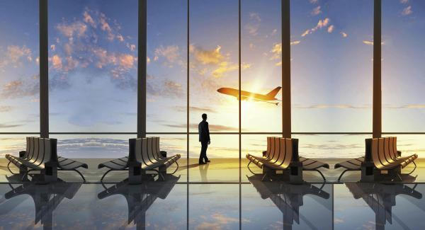 زمان حضور در فرودگاه