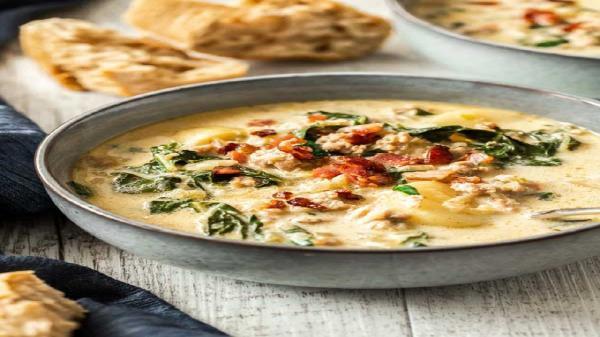 طرز تهیه و پخت سوپ ایتالیایی توسکانا