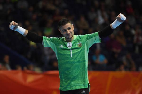 دروازه بان آرژانتین: ایران تیم سرسختی است، دنبال پیروزی هستیم