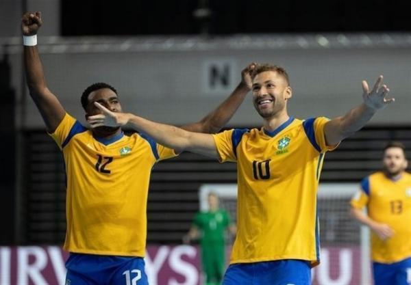 تور ارزان برزیل: جام جهانی فوتسال، رجحان سخت برزیل مقابل ژاپن، سلسائو حریف مراکش شد