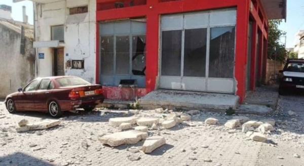 تور یونان: زلزله در جزیره یونان با 9 کشته و زخمی